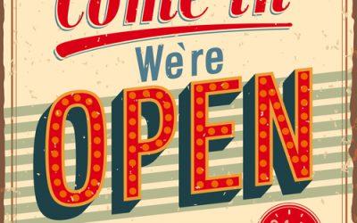 Vanaf 3 maart weer geopend!