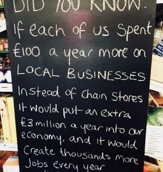 Support your local stores this Christmas!