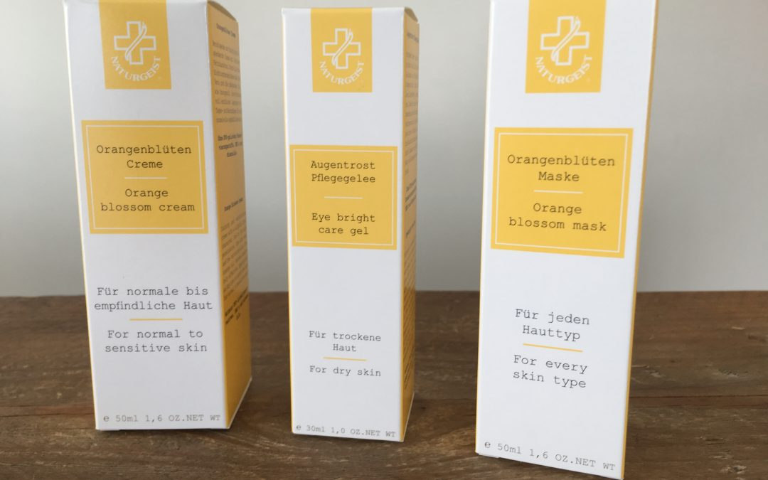 #TuesdayTips Sinaasappel Bloesem masker, gel en crème uitgelicht